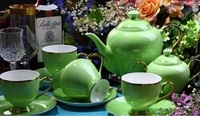 GH-T-01 bone china tea set / coffee set elegant design