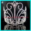 Big silver crystal wedding tiaras