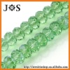 8mm Peridot Crystal & Glass Faceted Bead Necklace Bracelet