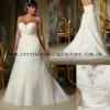2013 new arrival sweetheart beaded appliqued lace A-line xl xxl xxl xxl custom-made plus size wedding dress CWFaw4870