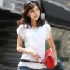 Woman's clothing Short Sleeve Chiffon Blouses & Tops