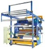 textile shinning effect eiderdown and chemical fabric calender machine