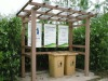 timber plast garden fence