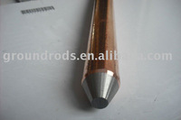UL copper coated ground rods