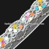 Plastic beads lace sequin trims