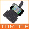 Wireless Bluetooth Keyboard Case for iPhone 4