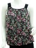 Asia hotselling ruffled blouse and summer vest