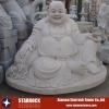 Carved granite buddha statues