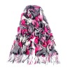 magic fashion scarf in 100%polyester and acrylic for decoration
