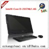 "cheap touch screen all in one pc 21.5"" I3 CPU/Memory:DDR3,2GB/HDD: S-ATAII 500GB"