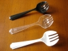 "8 1/2"" plastic serving fork"