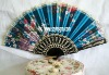 Salable party gift silk lace fans