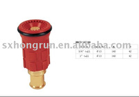 25mm Brass garden hose Nozzle