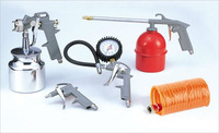 5pcs air tool kit with gravity spray gunLD-2000A5