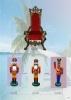 Lacquer 3D man mannequins artworks for display on sale