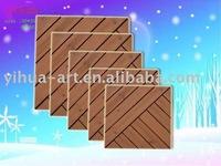 35*35 wooden decking
