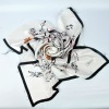 2012 fashion silk aquare scarf 60*60silk scarf