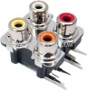 rca jack connector 4 pin femal audio jack