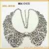 2013 fashion luxurious collar necklace silver necklace