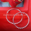2013 best brand cute baby pure silver bangle