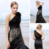Wholesale Coniefox Hotsale Luxurious black ball gowns 80130