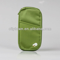 Travel light passport bag document packets multifunctional bill clip storage card package