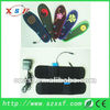 electric heater shoes insole with 1800mA battery