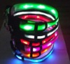 Hot!! 2012 led flashing glowing dog collar,waterproof led collar