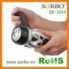 Sorbo LED Flashlight Radio with charger