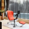 DEMNI Comfy Orange dubai sofa furniture with laptop arm