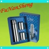 promotional stainless steel mugs gift sets with two cups