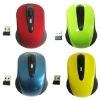 2011 2.4G wireless arc folding mouse (X-9300)