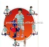 2012 Newest gift for Kids: multi-function skateboard /arm fitness equipment with 4 -Universal wheels, for standing or seating