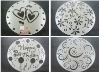 Eco-Friendly Lace Paper Doilies / Oval Doyley/ Disposable Cake Paper