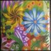 Colorful Flower Paper Napkin-printing paper napkin