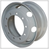 Tubeless steel wheel