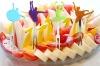 European pop Buffet Dinner Fashion/Cheap Silicone Fruit Fork