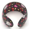 2012 Colorful Fashion Hello Kitty Acrylic Shamballa Bracelet (JW-4001)