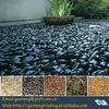 stone pebbles for landscaping (color in red,black,white,yellow,tiger strips,etc)