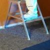 Anti-slip Recycled Felt Underlay With PE Film