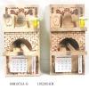 Wooden Decorative Wall Calendar