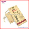 Special kraft paper hangtags for apparel