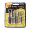 5 Pcs Rotary Rasp File Set For Steel
