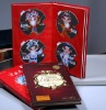booklet with CD DVD disc
