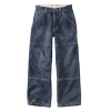 [LEAP] Check-lined carpenter jeans  (children garment,children wear)
