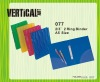 #077 2/3 in Ring Binder - A5