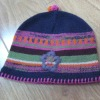 Jacquard knitted hat,jacquard hats