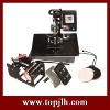 Combo Heat Press Machine,mug press,cap press,plate press,t-shirt press machine