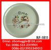 Round Ceramic Pizza Plate & Dinner Plate for Tableware or Daily Use