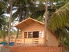 small prefab house wooden villa